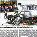Feuerwehr Kriegshaber feiert Wiedergründung